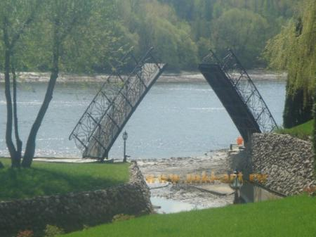 кованые мосты с установкой