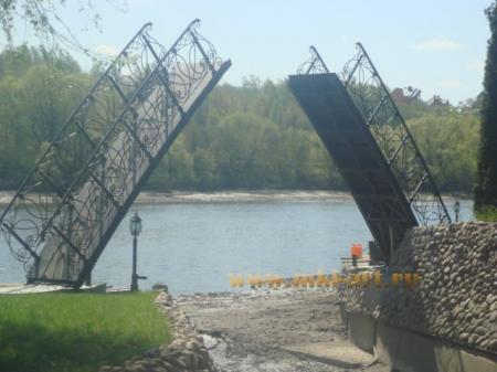 художественная ковка мостов