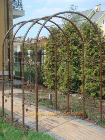 кованые ограждения для сада